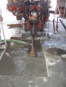 horizontal remediation well drilling