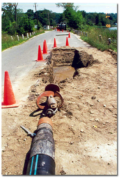 Stage 3 of the Horizontal Directional Drilling Process is Pullback